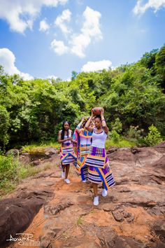 Venda wedding, Venda attire, traditional wear, South Africa, african print