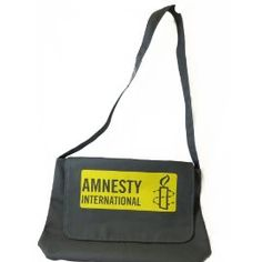 Amnesty Messenger Bag, $24.95 #FathersDay #Gifts