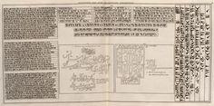 Afbeelding van oude Persiaensche Karakteren - Persepolis - 1704 - Cornelis de Bruijn - New York Public Library - Digital Collections