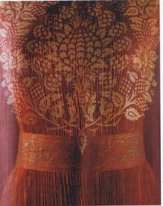 Detail from a Fortuny dress