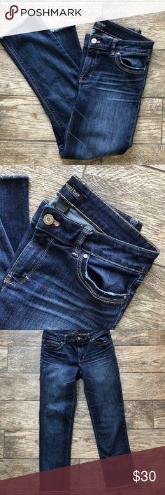 White House l Black Market Dark Wash Ankle Jeans