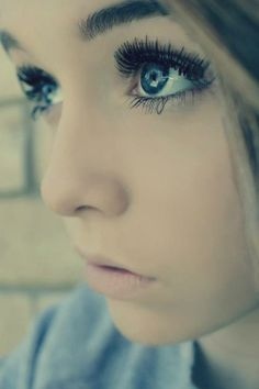 I think; if you use make up in a way that doesnt cover up your beauty... it just brings out your beauty.