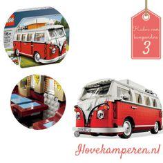 Lego camper - 10 kado's voor mannen die graag kamperen! - 10 gifts for men who love to camp! #camping #caravan #gift #present #kado