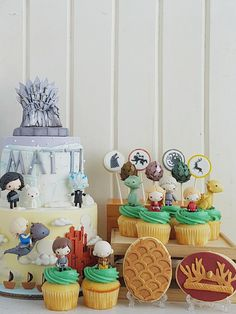 Game of Baby Thrones | Cottontail Cake Studio | Sugar Art & Pastries