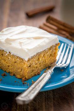 Easy Pumpkin Cake Recipe on Yummly