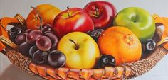 New Fruit Basket Drawing Pencil Ideas Green Fruit, New Fruit, Fruit Basket Drawing, Wall Art Prints, Fine Art Prints, Framed Prints, Canvas Prints, Colombian Art, Fruit Painting
