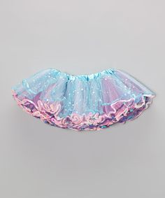 Sprinkled with sparkle and bursting with color, this tutu looks as though it's been kissed by fairy dust! The fluffy, layered shape is just perfect for attending princess parties or practicing pirouettes.