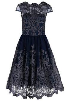 Suknia balowa - navy/silver