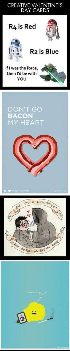 Cool cards for your Valentine…