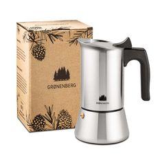 Camper Equipment, Italian Coffee Maker, Bialetti, Espresso Maker, Coffee Machine, Dishwasher, Kitchen Appliances, Stainless Steel, Super