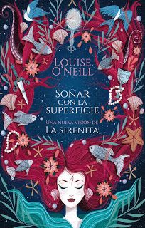 'The Surface Breaks' is Louise O'Neill's YA feminist retelling of the Hans Christian Andersen tale of the Little Mermaid. Book Cover Art, Book Cover Design, Book Design, Fantasy Magic, Fantasy Books, Fantasy Book Covers, Darkside Books, Books To Read, My Books