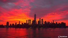 New York am Morgen Nyc, Manhattan, New York Skyline, Sunrise, Travel, Viajes, Destinations, Traveling, Trips