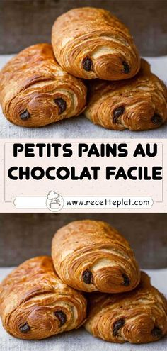 Cake Recipes, Vegan Recipes, Cooking Recipes, Chocolate Croissant, Biscuits, Good Food, Food Porn, Bread, Meals