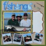 Scrapbook.com Gallery: Layout Favorites   Fishing