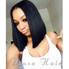 Glueless Full Lace Human Hair Bob Wigs Straight For Black Women Brazilian Virgin Hair Lace Front Human Hair Wigs Front Lace Wigs
