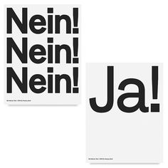 Looking back through Berlin studio Neubaus body of work youll notice everything is monochrome set in sans-serif typefaces and all made up of decidedly clean lines. You could call this safe but you could also call it confident and surprisingly restrained. Read more on the site right now. #itsnicethat #graphicdesign #typography by itsnicethat