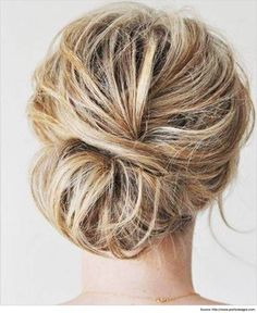 The best way to handle long hair is by tying into low messy bun hairstyles rather than a ponytail which would ultimately look beautiful. Read more