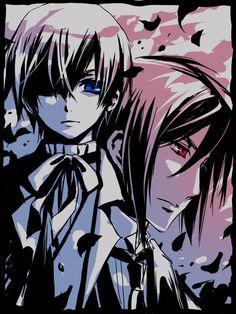 Ceil from Black Butler   anime, black butler, blue, ciel, drawing - inspiring picture on Favim ...