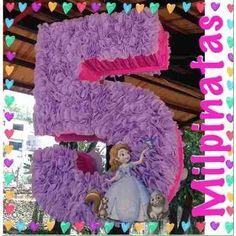 Piñata Entamborada Números, Fiestas Infantiles  - Bs. 25.000,00