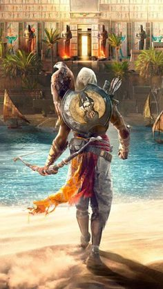 Papel de Parede Jogo ultra hd - Assassins Creed Origins