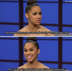 Misty Copeland is the best ballerina ever she is my idol Funny Dance Quotes, Dancer Quotes, Ballet Quotes, Dance Memes, Alvin Ailey, Dance Photos, Dance Pictures, Modern Dance, Zumba