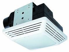 For Master Bathroom - Air King BFQF70 Energy Star High Performance Snap-In Exhaust Bath Fan with Light, White Air King http://www.amazon.com/dp/B00505VW7U/ref=cm_sw_r_pi_dp_gdjNtb0FEHSJQ3BK