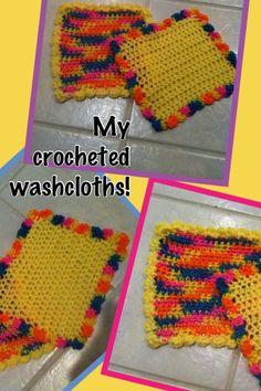 My Crocheted washcloths