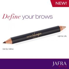 All-new Brow Define and Lift Duo. Naturally enhances sparse brows and elevates arch.  #jafra #Ajafracosmetics