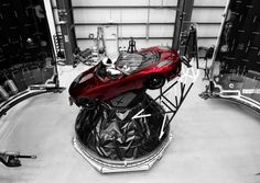 Elon Musk shows off Falcon Heavys Roadster-loving artificial astronaut