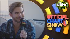 Adam Lambert interviews himself on the CBBC Official Chart Show
