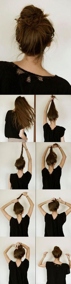 MESSY BUN HOW-TO - SaiFou