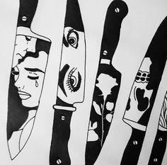 pop art tattoo black white ~ pop art tattoo black white , pop art black and white tattoo Pop Art Tattoos, Kunst Tattoos, Tattoo Drawings, Art Drawings, Tattoo Studio, Flash Art, Art Sketches, Art Inspo, Painting & Drawing