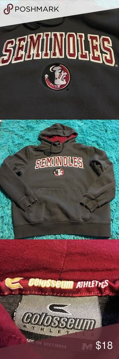 Florida State Colosseum sweatshirt size medium Pre-owned coliseum athletic sweatshirt hoodie. Size medium. See pictures for details. Colosseum athletics Tops Sweatshirts & Hoodies