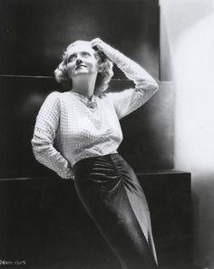 Bette Davis, 1930s viabathtubginjazz