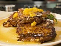 Brioche French Toast with Orange Marmalade Syrup - Bobby Flay recipe