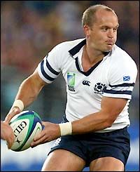 Gregor Townsend - Rugby Union Footballer:2007.
