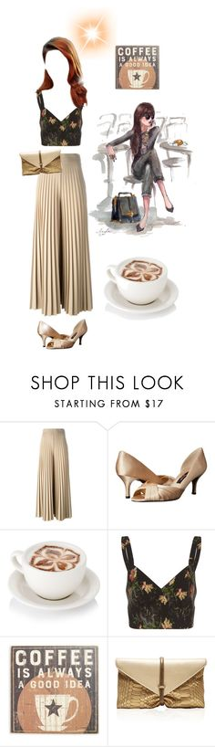 """Coffee please"" by gulokmini ❤ liked on Polyvore featuring Givenchy, Nina, Vilshenko, Primitives By Kathy and VBH"