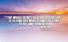 Henry Ford Secret To Life Picture Quote