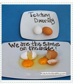Jewish Special Needs Education: Removing the Stumbling Block: Teaching Diversity AND Inclusion – The Egg Activity