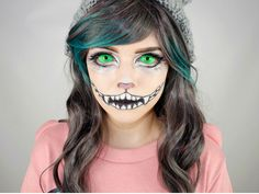 20+ Awesome DIY Halloween Costumes for Women | Cat makeup tutorial ...