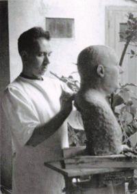 1/21- Happy Birthday, René Iché, French sculptor, 1897-1954.