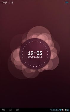 Ubuntu Linux Style Live Wallpaper For Android
