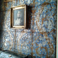 Pretty Spaces and Places - Pretty spaces and places to share today for your interior and exterior inspiration, enjoy. Scenic Wallpaper, Swedish Design, Swedish Decor, Swedish Style, Shed Colours, Medieval Castle, Metallic Colors, Elegant Homes, Pattern Wallpaper