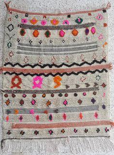 Azilal rug beni ouarain moroccan tribal berber by BOUCHEROUITE, $280.00