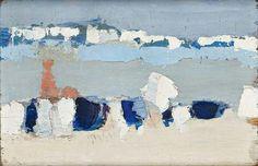 Nicolas de Staël, Le Lavandou - 1952 on ArtStack #nicolas-de-stael #art