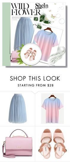 """""""Shein contest"""" by newoutfit ❤ liked on Polyvore featuring Chicwish, WithChic, Miu Miu and shein"""