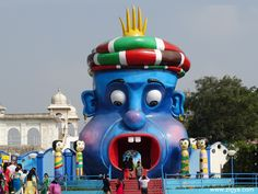 The Ramoji Film City situated in Hyderabad, over 2000 acres, is the largest integrated film city in the world