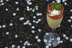 Mindblowing carrot and white chocolate panna cotta
