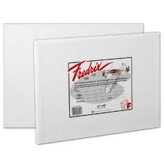 Fredrix 3217 Fredrix Canvas Panels, 16 by 20-Inch, 3-Pack