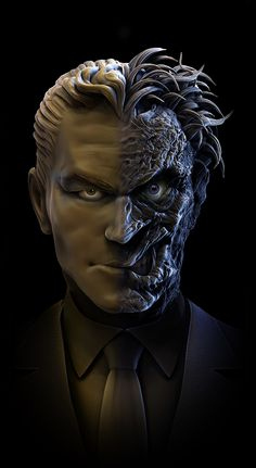Two-face by mgorbea.deviantart.com on @deviantART
